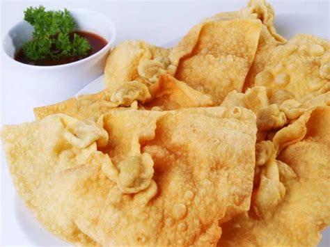 bahan untuk membuat kentang goreng resep dan cara membuat keripik pangsit goreng renyah