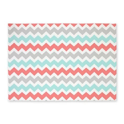 cafe press rugs buy cafepress coral aqua grey chevron 5 x7 area rug standard white in cheap price on alibaba