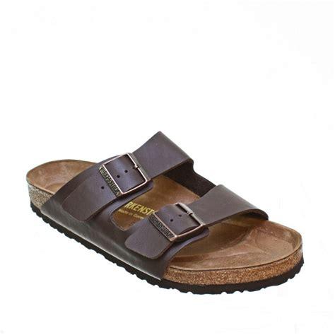 mens birkenstock arizona footbed slip on casual black