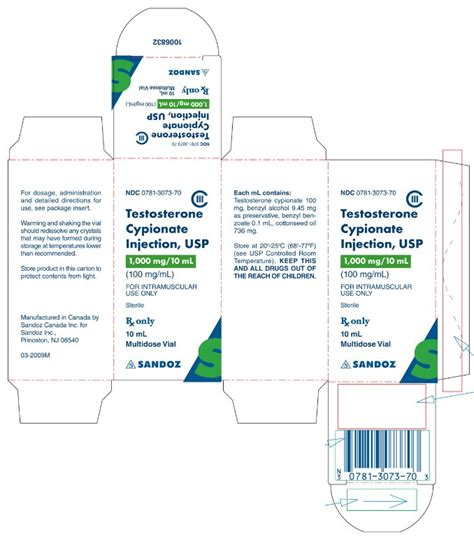 Cypionax Testosterone Cypionate 200mg 10 Of 2 testosterone cypionate by watson labs