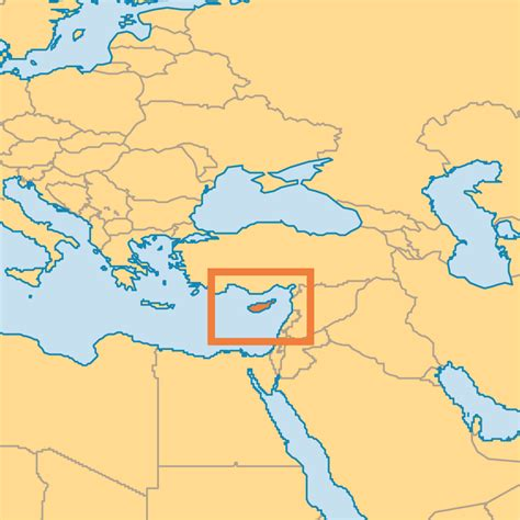 where is cyprus on the world map cyprus operation world