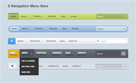 design navigation menu item how to create a responsive navigation menu using only css