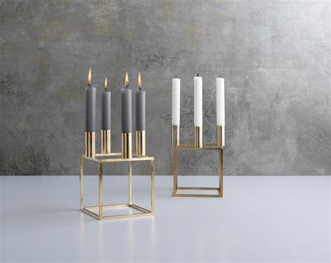 Kubus By Lassen by Kubus 1 Nickel Candlesticks Candleholder From By