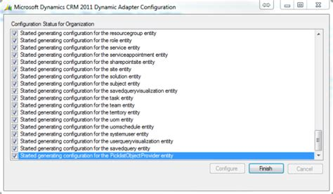 microsoft dynamics crm 2013 outlook integration part 2 microsoft dynamics crm 2011 instance adapter part 3
