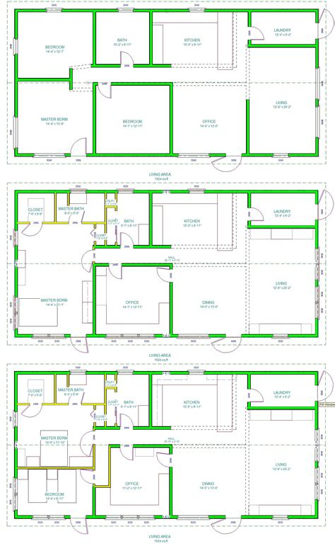 layouts of houses the real