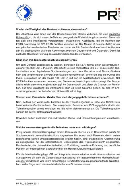 Hu Bewerbung Master Bwl motivationsschreiben master bwl muster deckblatt