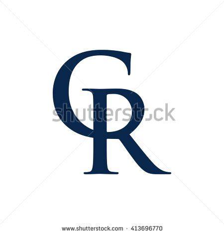 Logo 1 Cr Oceanseven letter r c logo vector stock vector 413696770