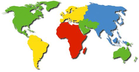simple world map image easy world map
