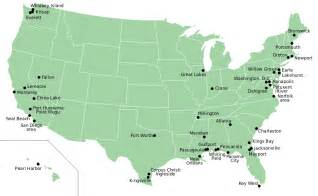 map of united states bases us base locations map us free engine image for