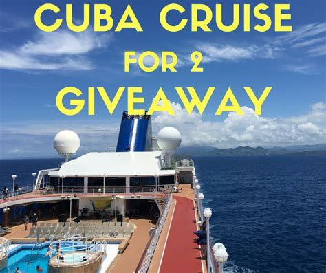 Cruise Giveaway - here are all direct flights to cuba from the u s in 2016