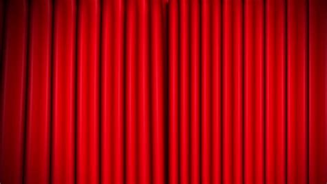 Velvet Stage Curtains Theater Velvet Curtains Opening Zoom Stock Footage 6524495