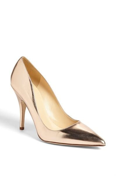 metallic gold high heels shoes gold gold heels high heels pointed toe