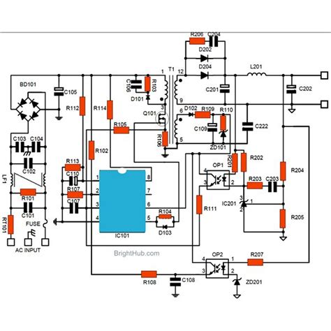 smps power supply circuit diagram wiring diagram with