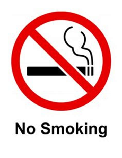no smoking sign template signs words and yahoo search on pinterest