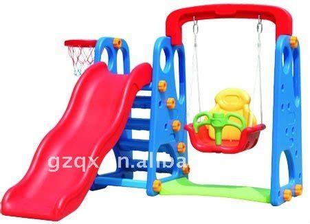 indoor swing and slide for toddlers children indoor outdoor mini slide and swing set buy