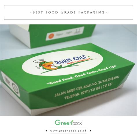 take away box greenpack kemasan makanan food grade