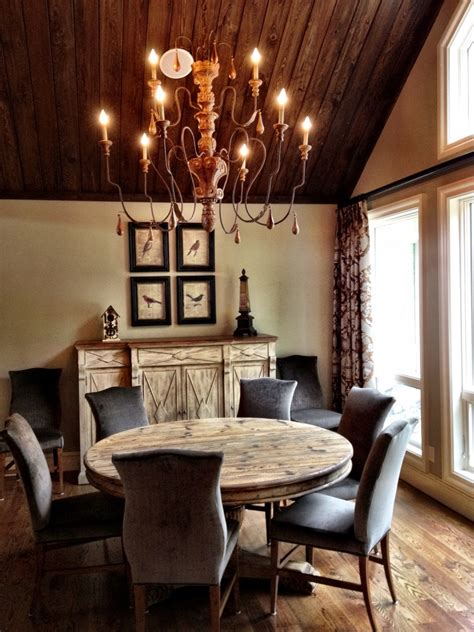 rustic dining room decor 1000 ideas about rustic dining rooms on pinterest