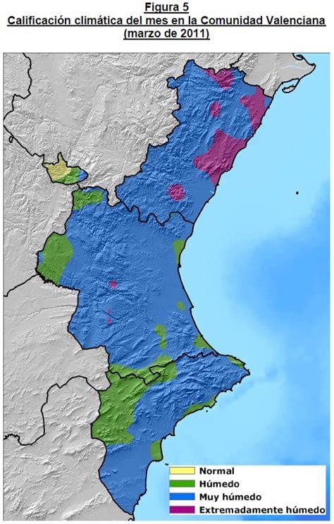 Resumen 8 De Marzo by Tiempovalencia Resumen Clim 225 Tico De Marzo De 2011