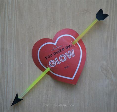 valentines build a cupid s glow stick valentines diy