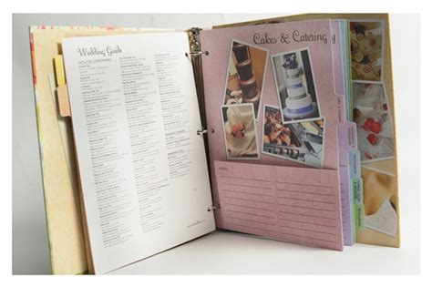 wedding planner binder template stay organized simplify your wedding royalty planning