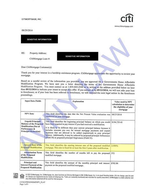 Loan Modification Approval Letter Modification Approval Sles 28 Images Approval Letter From Bank Of America Quot Providing
