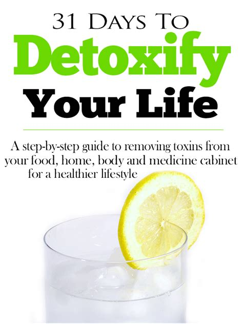How To Do A Detox At Home by 31 Days To Detoxify Your E Book Pdf Herbal