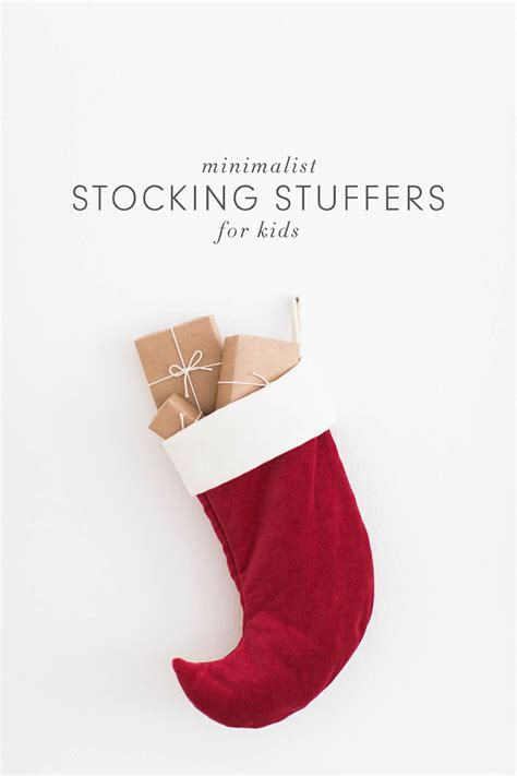 stocking stuff minimalist stocking stuffers for kids kaley ann