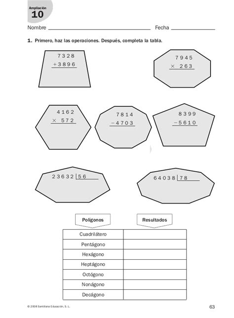 refuerzo y liaci 243 n ejercicios refuerzo para 3 de primaria 3 186 prim matematicas refuerzo y liacion santillana