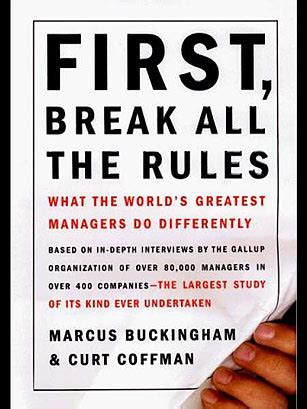 first, break all the rules (1999), by marcus buckingham