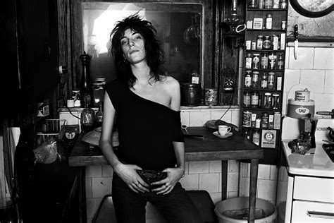 style icon patti smith the front row view