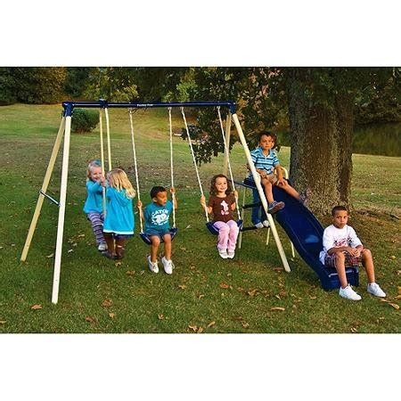 good swing sets flexible flyer swing n glide metal swing set endurro