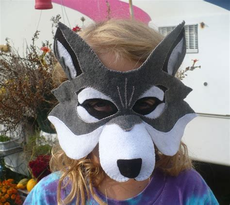 How To Make A Wolf Mask Out Of Paper - the enchanted tree 2013