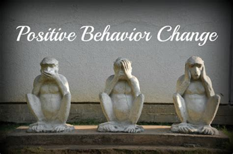 positive behavior change shinzen young