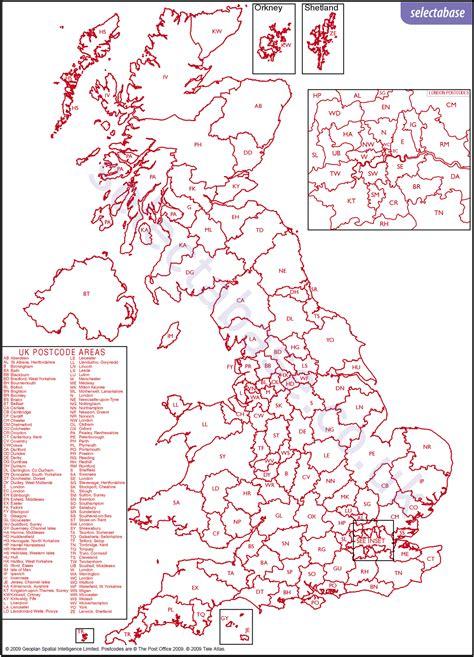 map uk zip codes postcode tools
