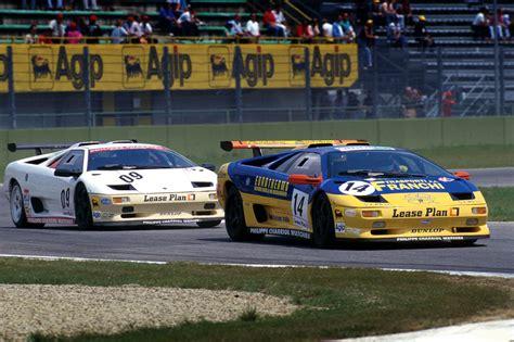 Lamborghini Diablo SV R group GT2 (1998)   Racing Cars
