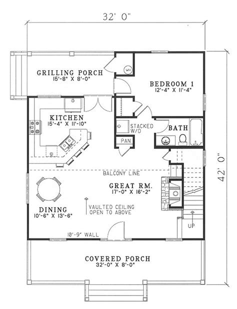 800 sq ft open floor plans small house plans under 1000 sq ft with porches joy