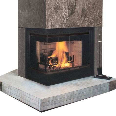 ihp superior wrt4000 multi view wood burning fireplace