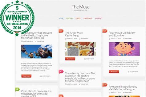 blog theme muse best wordpress blog themes blog templates boa