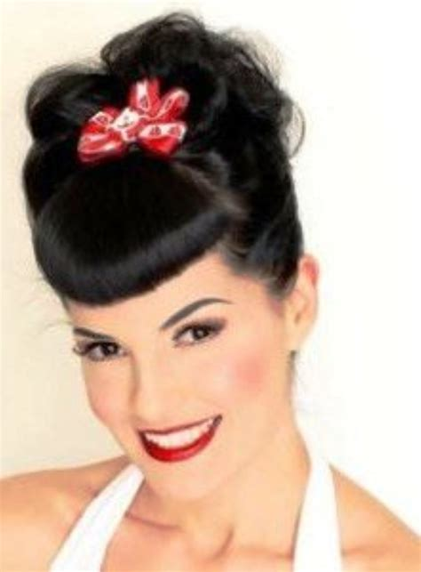 Rockabilly Hairstyles For Hair by Hairstyles Rockabilly For Your Hair Club