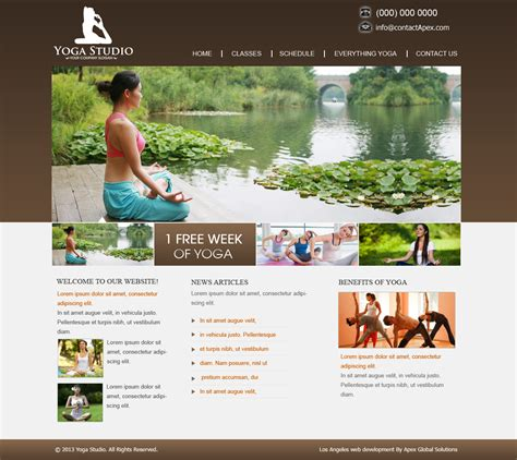 website templates for yoga teachers website design for yoga studio yoga teachers and yoga centers