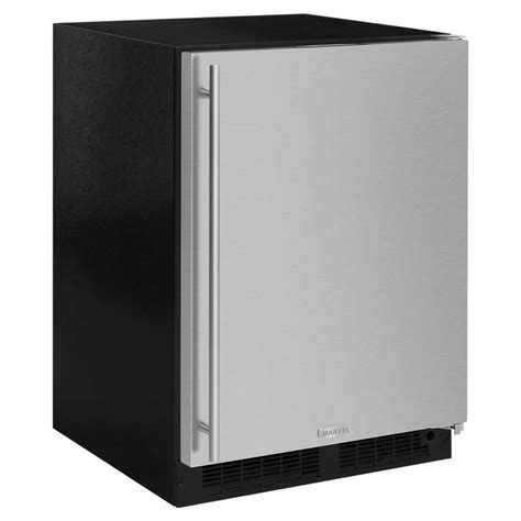 cabinet depth refrigerator lowes shop marvel 5 1 cu ft counter depth built in freestanding