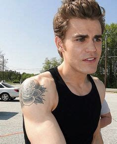 paul wesley rose tattoo stefan i want to the story paul wesley