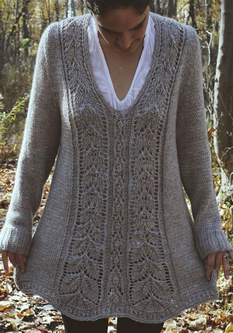 knit hockey sweater pattern knitting pattern for meara tunic this long sleeved