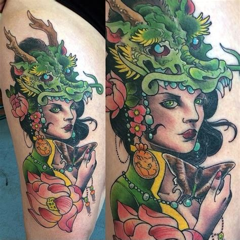 minds eye tattoo hours dragonlady done by joshua ross of mind s eye tattoo in