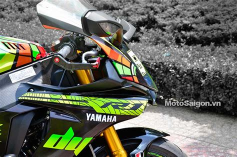 Len Yamaha R1 by Yamaha R1 2015 L 234 N Tem Phong C 225 Ch Vr46 Cực đẹp