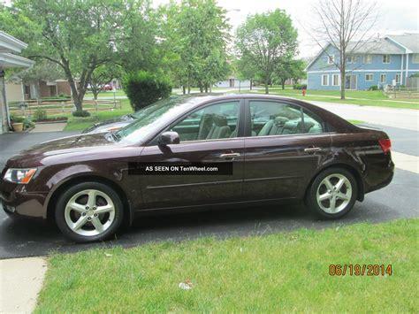 2006 Hundai Sonata by 2006 Hyundai Sonata Gls V 6