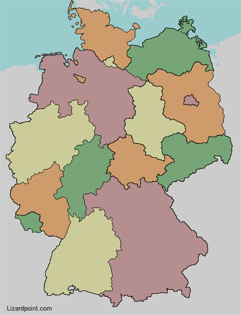 america map quiz lizard point test your geography knowledge germany states lizard point