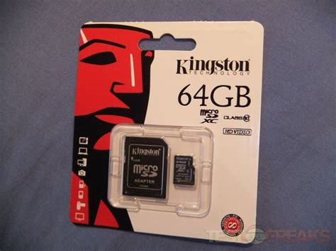 Micro Sd 64gb V review of kingston 64gb microsdxc class 10 flash card technogog