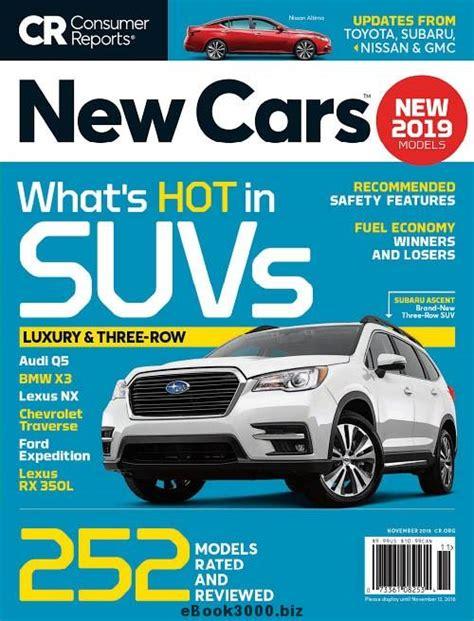 consumer reports  cars november