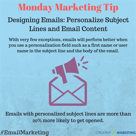 20 email subject lines that will get opened every time personalize subject lines and email content